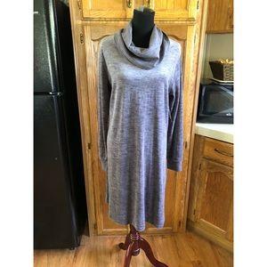 NWT The Limited Velour Cowl Neck Dress Sz XL